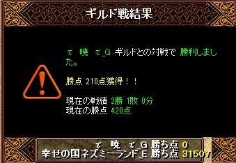 13.4.25τ 暁 τ様 結果