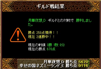 13.7.4月華夜想様 結果
