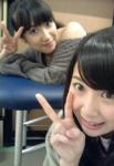 SKE48 高柳明音 佐藤聖羅 セクシー カメラ目線 顔アップ ピース 笑顔 高画質エロかわいい画像14