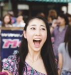 AKB48 近野莉菜チカリナ セクシー 口開け 舌 顔アップ 驚き顔 高画質エロかわいい画像3