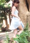 AKB48 大島優子 セクシー ワンピース スカートたくし上げ 太もも 高画質エロかわいい画像83