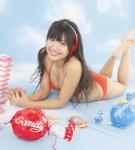 AKB48 北原里英 セクシー オレンジビキニ水着 おっぱいの谷間 笑顔 カメラ目線 高画質エロかわいい画像62