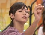相武紗季 セクシー 顔アップ 目を閉じている 女優 地上波キャプチャー イキ顔 感じている 高画質エロかわいい画像6
