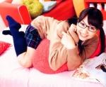 戸松遥 セクシー メガネ 笑顔 カメラ目線 声優アイドルスフィア 女子高生制服 おさげ 壁紙サイズ 高画質エロかわいい画像66