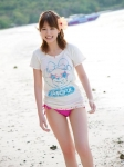 平野綾 セクシー 水着 太もも 笑顔 カメラ目線 浜辺 声優アイドル 高画質エロかわいい画像54