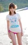 平野綾 セクシー 水着 太もも カメラ目線 浜辺 声優アイドル 高画質エロかわいい画像55