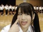元AKB48 平嶋夏海 セクシー あっかんべー 舌出し ツインテール 顔アップ PVキャプチャー 舌上射精 高画質エロかわいい画像5