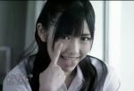 AKB48 渡辺麻友まゆゆ セクシー あっかんべー 顔アップ カメラ目線 舌出し 舌上射精 PVキャプチャー 高画質エロかわいい画像64
