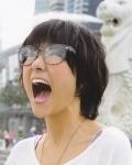 AKB48 宮澤佐江 セクシー 口開け 舌 顔アップ メガネ ショートヘア マーライオン エロかわいい画像55