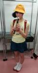 HKT48 穴井千尋 セクシー 縦笛咥え ランドセル ミニスカート コスプレ 全身 高画質エロかわいい画像2