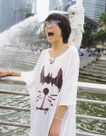 AKB48 宮澤佐江 セクシー 口開け 舌 メガネ ショートヘア マーライオン エロかわいい画像56