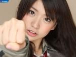 AKB48 大島優子 セクシー 顔アップ 握り カメラ目線 壁紙サイズ 高画質エロかわいい画像93