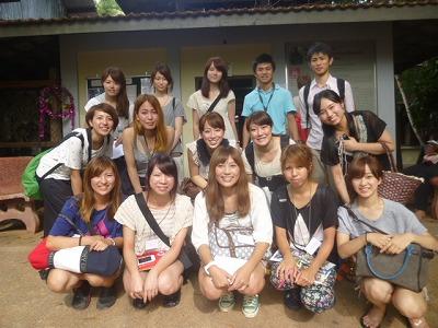 (財)日本アジア交流財団(JAEF)企画のスタディツアーに参加の皆様