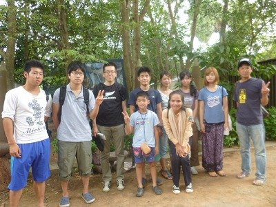 福岡の一般財団法人CMC「カンボジア地雷撤去キャンペーン」企画のステディツアー参加の皆様