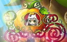 ハロウィンかぼちゃ馬車