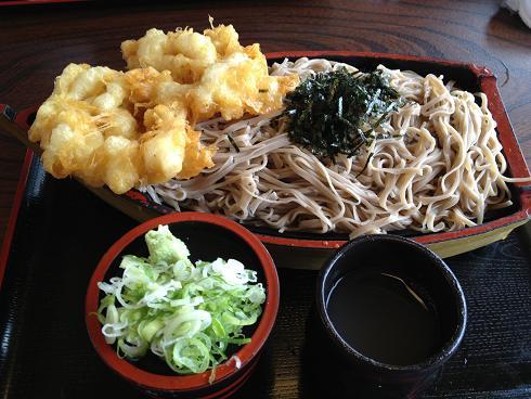 出雲蕎麦天ぷら