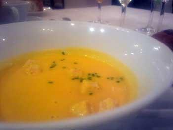 クリーミーなスープ