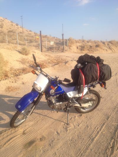 バイク ツーリング ルート66 荷物