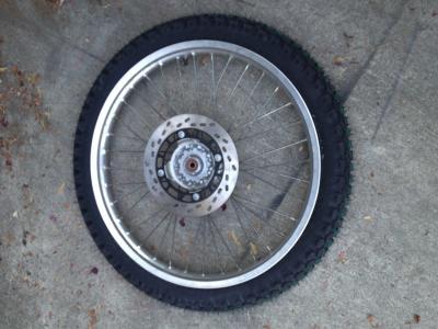 アメリカ バイク ツーリング DR200SE ジェベル タイヤ 交換 オン ロード