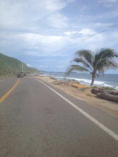 メキシコ バイク 太平洋