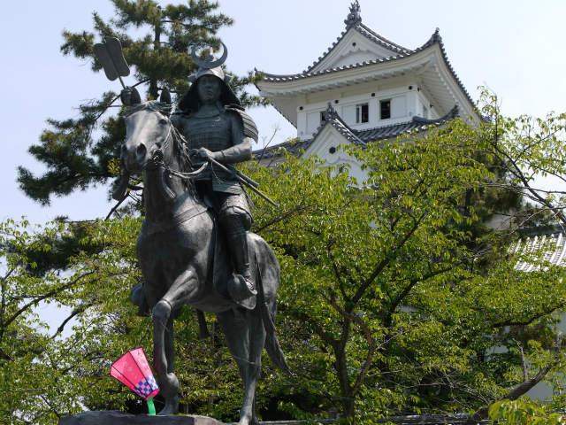 大垣城 戸田氏鉄 銅像