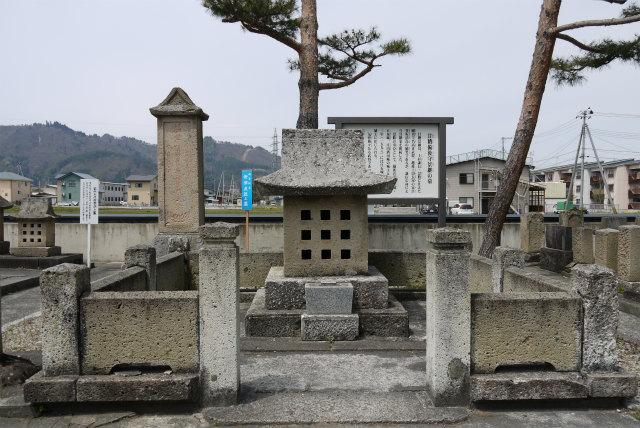 米沢林泉寺 甘粕備後守の墓