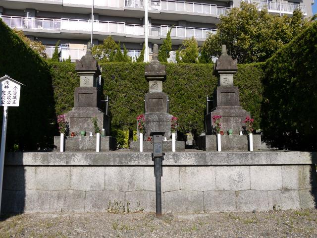 徳勝寺 浅井三代の墓