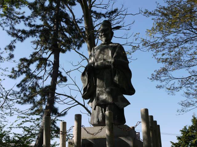 長浜 豊臣秀吉の銅像