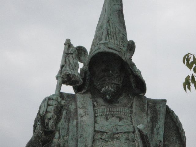 熊本城 加藤清正の銅像