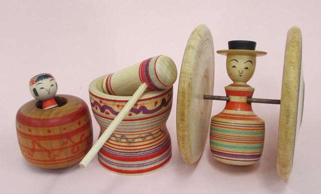土湯の木地玩具