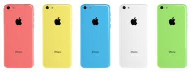 iPhone5cカラー
