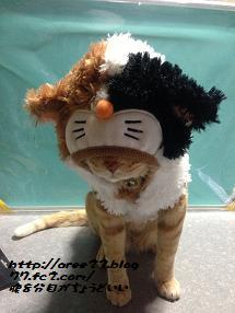 お洒落③(ミケ猫)