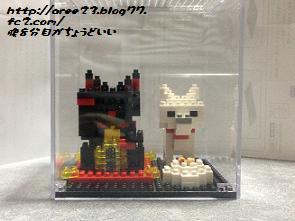 nanoblock 招き猫と北海道犬①
