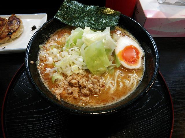 ふじ美_濃厚担々麺02