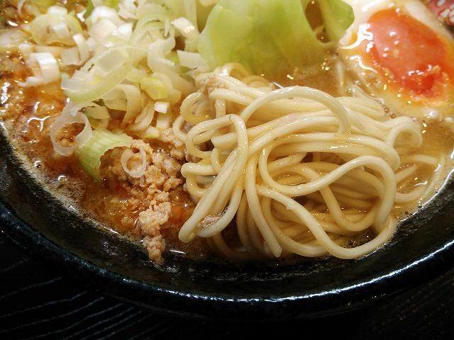 ふじ美_濃厚担々麺04