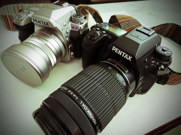 カメラ二機
