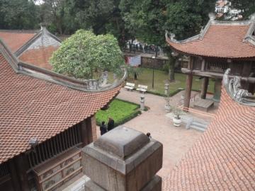 3-25 ベトナム最古の大学・国子監の二階からの景色