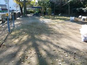 公園清掃御