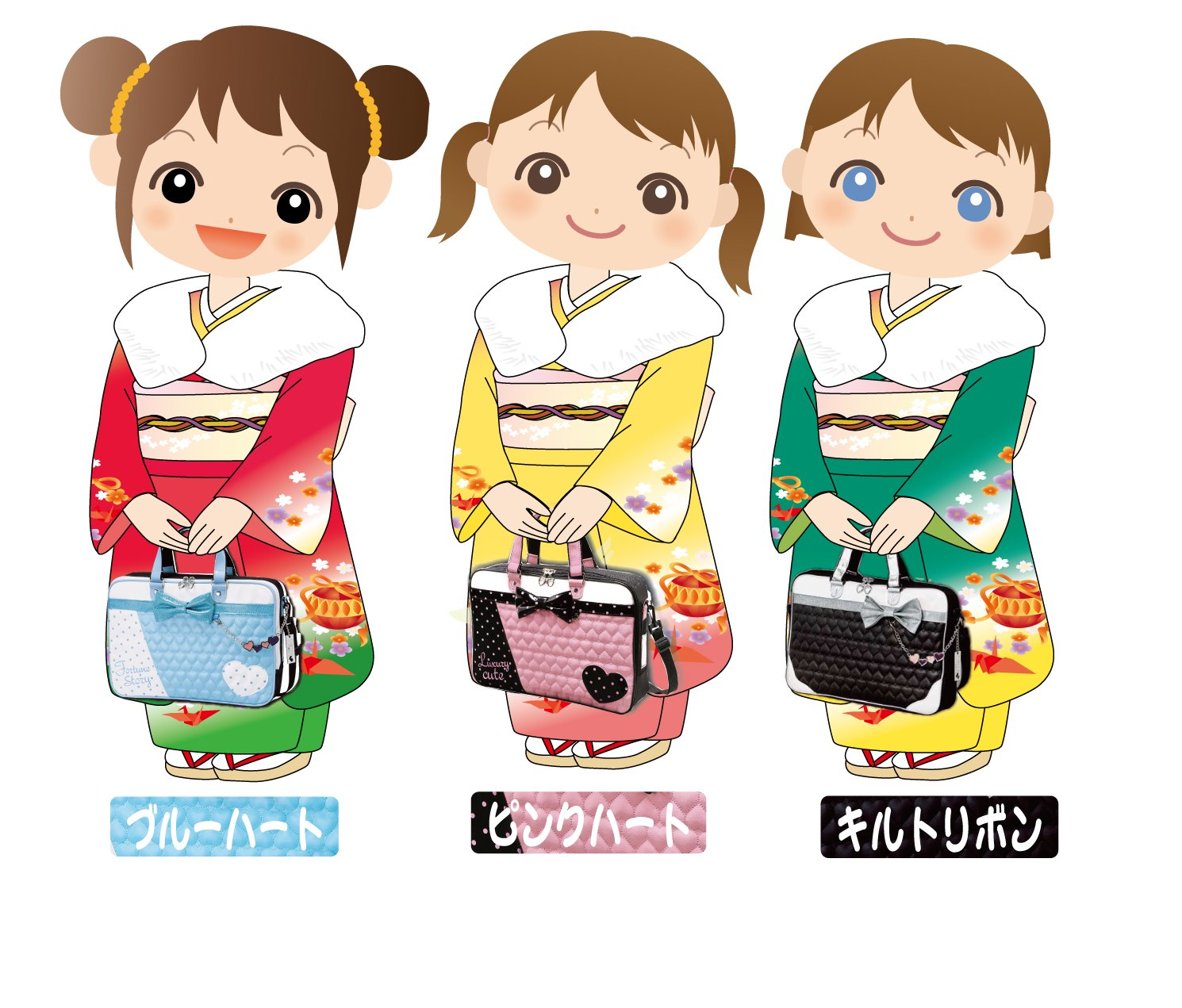 三姉妹着物