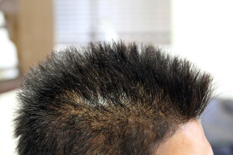 酸性縮毛矯正 メンズ縮毛矯正 スピエラ ベリーショート