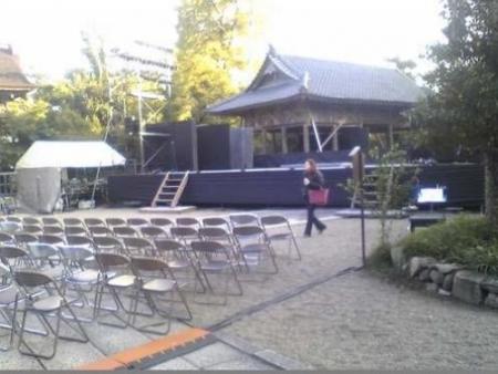 中山神社ステージ