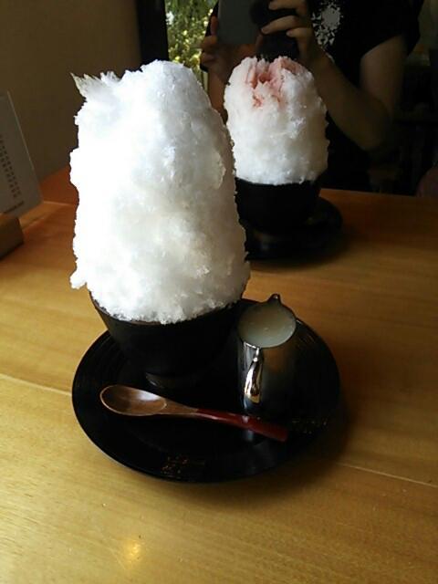 阿佐美冷蔵かき氷①