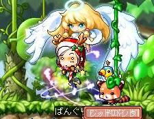 天使と一緒