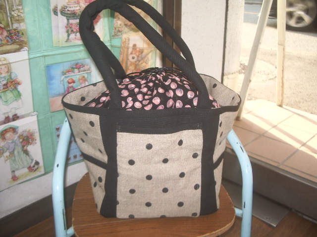 french fabric bag 010