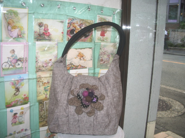 flower motief bag 004