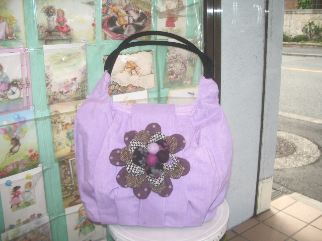 flower motief bag 003