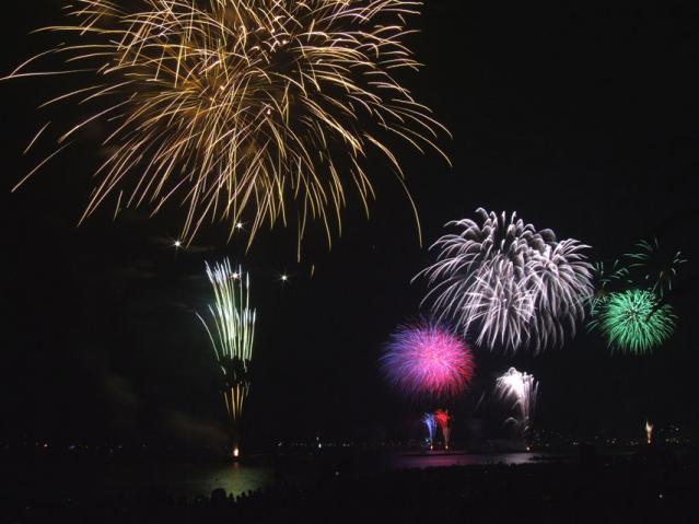 伊東 按針祭海の花火大会2013(7)