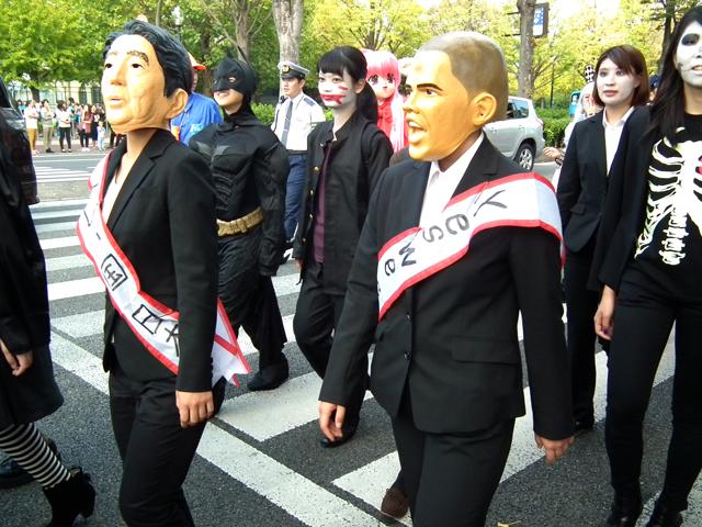 カワサキハロウィン2014パレード(1)
