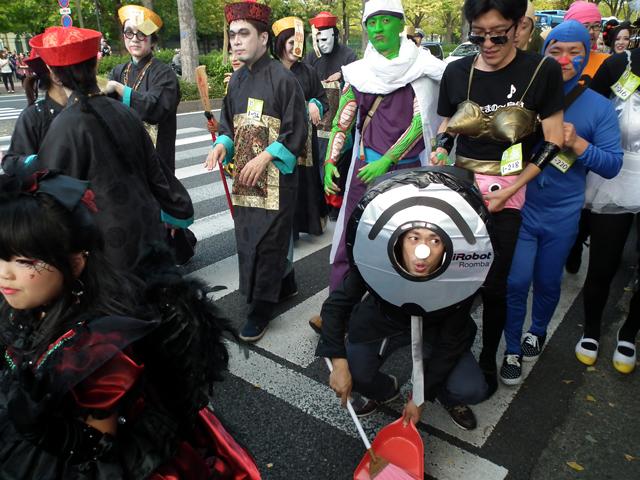 カワサキハロウィン2014パレード(2)