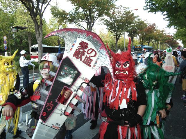 カワサキハロウィン2014パレード(8)